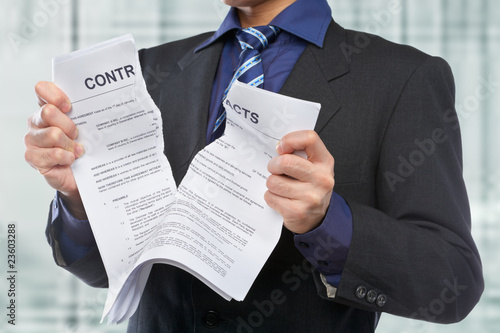 Tearing the contracts