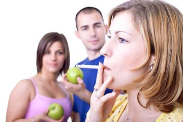unhealthy  cigar