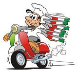 Fototapety Pizzaservice