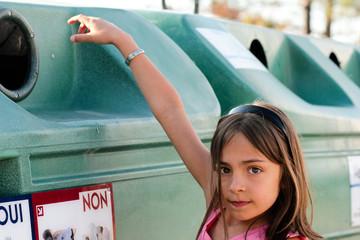 enfant et recyclage
