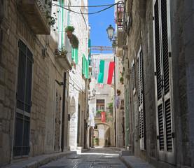 Characteristic  Alley. Giovinazzo Oldtown. Apulia.