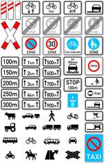 Zusatzschilder im Straßenverkehr