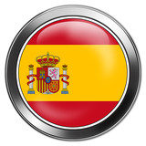 spanien, spain, espania button