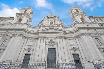 Roma, piazza Navona, chiesa di S. Agnese in Agone