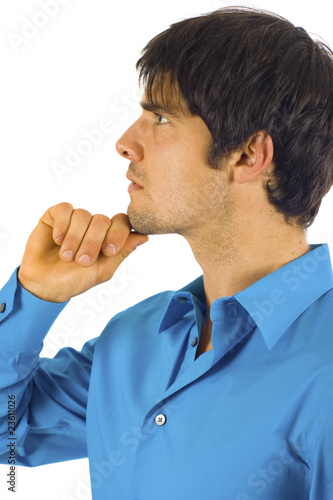 Poster Business Man - Pensive
