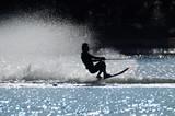 Fototapeta podświetlenie - zarys - Sporty wodno-motorowe