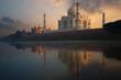 Taj Mahal Sunset from Jamuna River