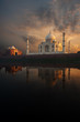 Riverview Taj Mahal & Jawab at Sunset