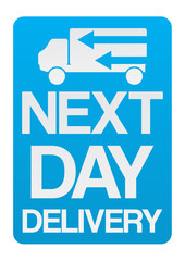 Next Day Delivery Icon
