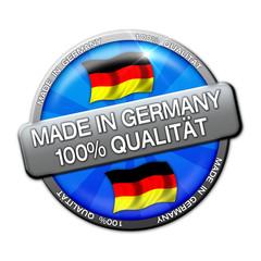 Werbebutton - Made In Germany-100% Qualität (01)