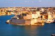 Malta La Valetta, isla de BIRGU