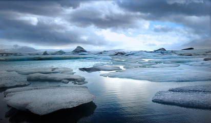 Eisberg-Lagune