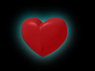 Ein Herz mit Aura, Grafik