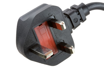 UK Mains Power Plug