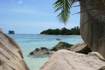 La Digue, Seychellen, Anse Source D'Argent 1