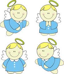 little cute angels set
