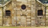 Stonework of the Seperate Prison, Port Arthur, Tasmania. poster