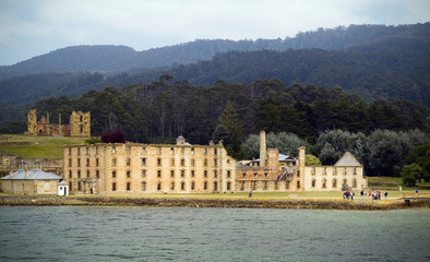 One of Port Arthur's largest buildings, the Penitentiary