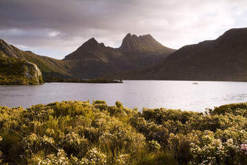 The iconic image of Tasmania, Cradle Mountain
