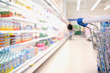 Leinwandbild Motiv Einkauf frischer Lebensmittel