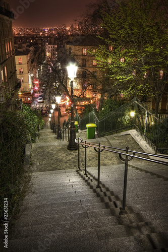 Lamplight, cafes and steep steps - 23631234