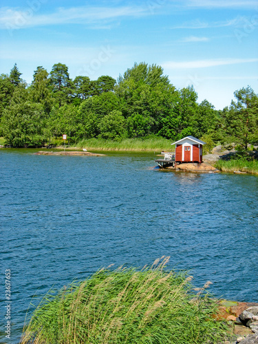 Red cabin in Sweden
