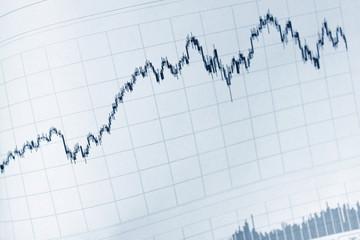business financial market chart graph