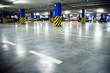 Traffic in underground parking garage - 23641497