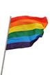 Drapeau symbole gay
