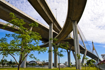 Industrial Ring Road Bridge in Thailand