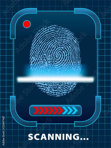 Finger-print scanning