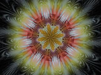 Abstract Fractal Background Design 012