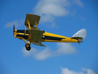 Yellow Vintage Aircraft