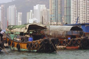 Junks, Aberdeen, Hongkong