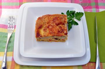 Pasta - Lasagne vegetariane alle zucchine