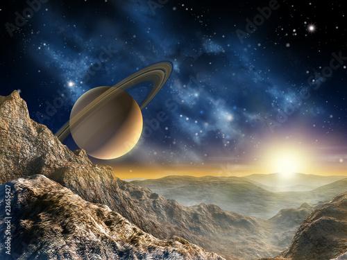 Saturn moon - 23655427