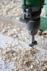 Using machines in joinery