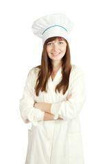 smiling female cook