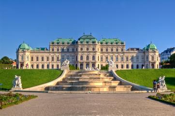 Schlosspark Belvedere Wien Österreich