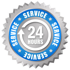 Service 24 hours