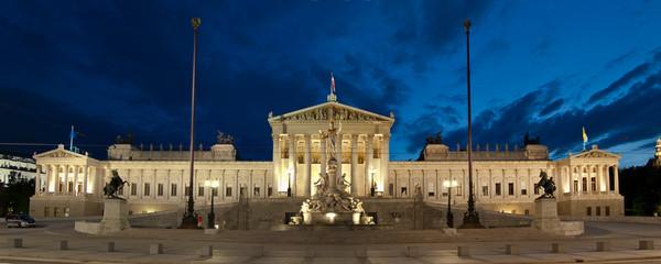 Panorama des Wiener Parlamentes