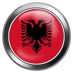 button albanien stick glas