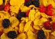 Corn Flakes & Mixed Berries