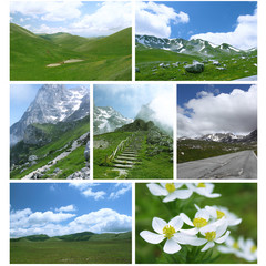montagna cartolina 2