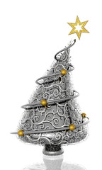 Chrome Christmas Tree
