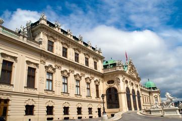 Wien, Blick aufs obere Belvedere