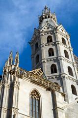 Blick auf den Stephansdom in Wien