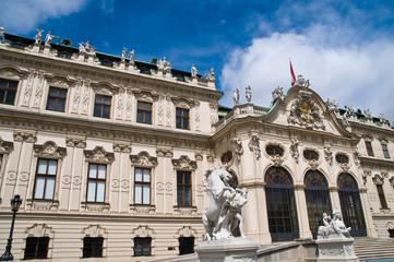 Wien, Schloss Belvedere im Blick