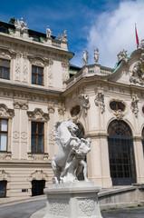 Wien, Belvedere im Blick