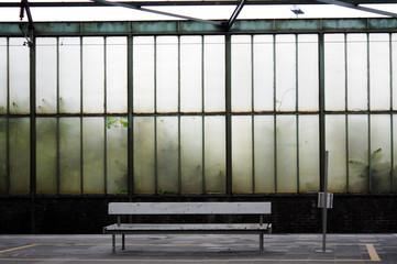 Bahnhof. Einsamkeit